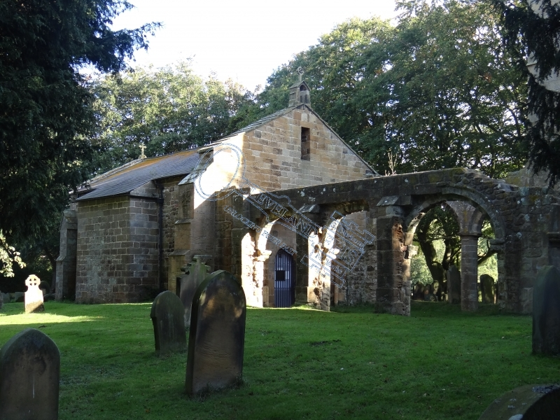 Whorlton Old Church nr Swainby