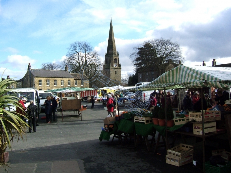 Market Day at Masham